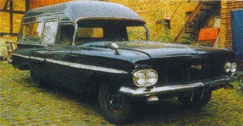 Im Bau: 1959er Chevrolet Hearse - Bauberichte - Das Wettringer ...